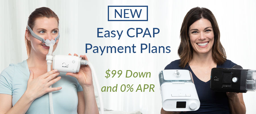 $99 Down CPAP Payment Plans Slider