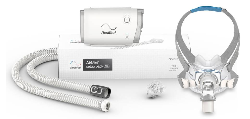 AirFit F20 Mask and Machine Bundle Pack