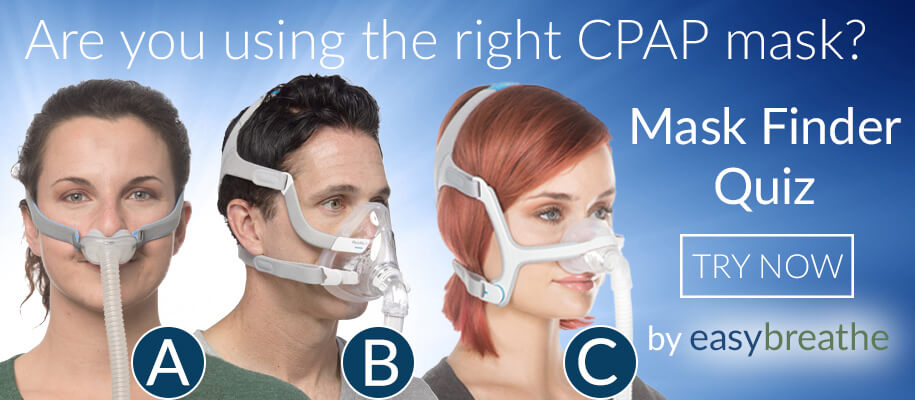Easy Breathe Mask Finder Quiz Slider