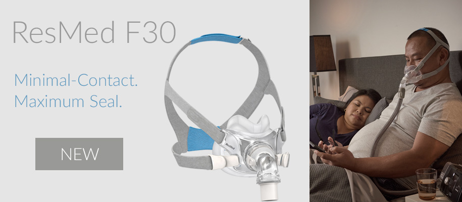 New ResMed AirFit F30 Full Face Mask